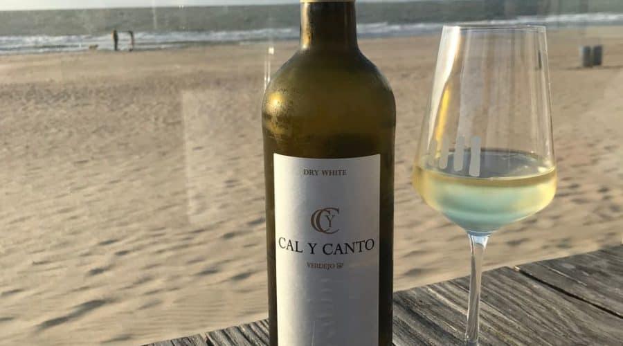 Wein Flasche Weißwein Meer