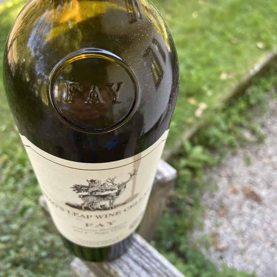 Wein Weiinflasche Rotwein Napa Valley Kalifornien