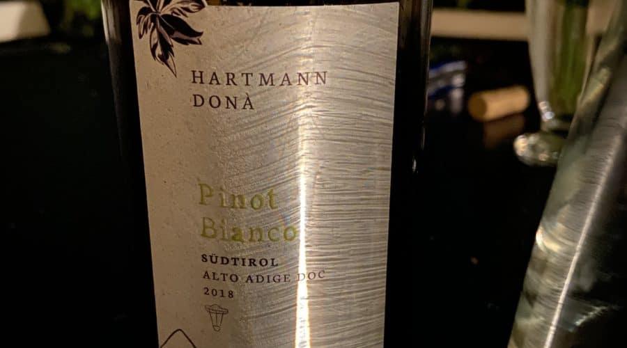 Wein Flasche Weinflasche Pinot Bianco Südtirol Weißwein